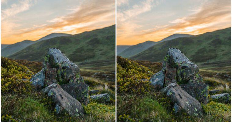 Scottish stereo sunrises