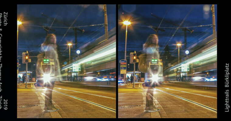 Freezing the movement oflight