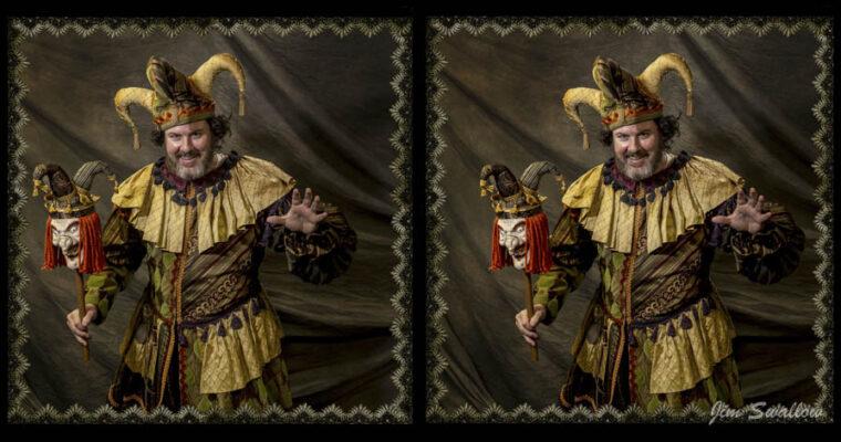 Rigoletto stereo portraits