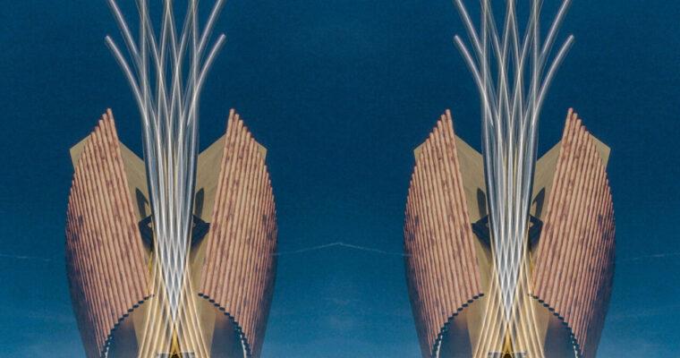 Translucent stereoscopic symmetry