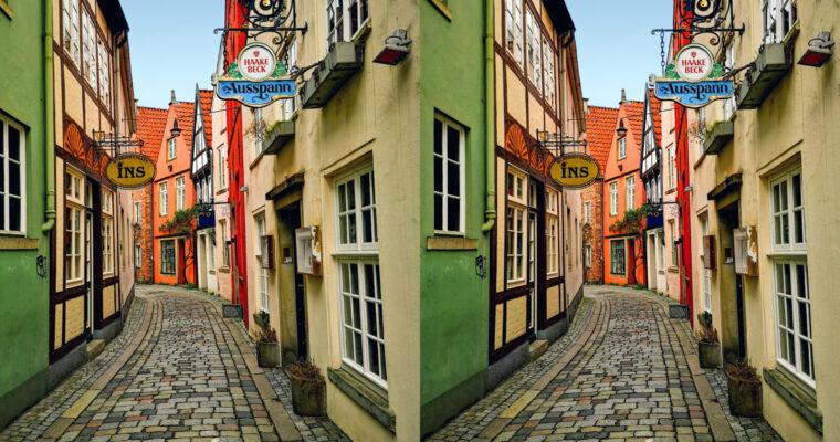 A stereo tour through Bremen