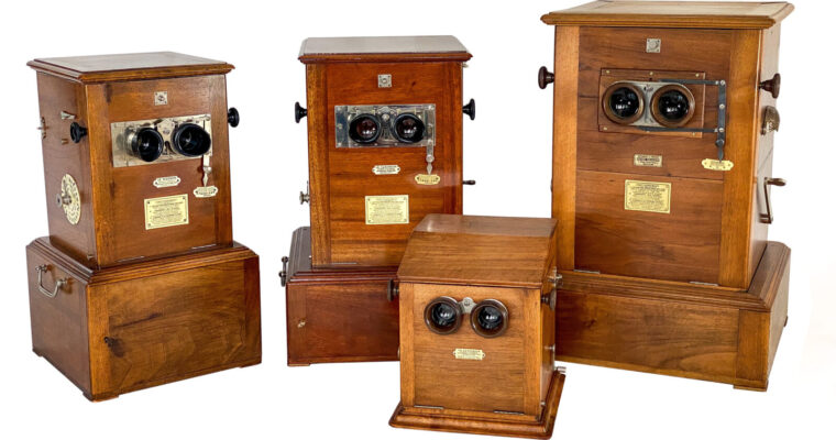 Le Taxiphote — the most famous French stereo viewer